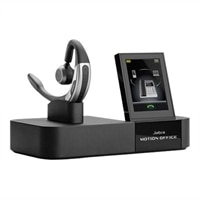 Jabra Motion Office - Headset - ear-bud - over-the-ear mount - wireless - Bluetooth