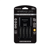 Panasonic Eneloop Pro AA 4-Pack with Charger Kit