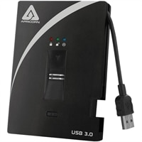 Apricorn 500 GB Aegis Bio Portable - USB 3.0 External Hard Drive (A25-3BIO256-500)