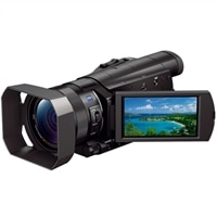 Sony Handycam HDR-CX900 - Camcorder - High Definition - 20.9 MP - 12 x Optical Zoom - Carl Zeiss - Flash Card - Wi-Fi - Black