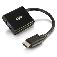 C2G HDMI to VGA Adapter Converter Dongle - Video converter - HDMI - black