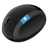 Microsoft Sculpt Ergonomic Mouse - Mouse - 7 buttons - wireless - 2.4 GHz - USB wireless receiver
