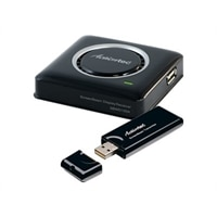 Actiontec ScreenBeam Kit Wireless Display Receiver & Transmitter for Non-WiDi Laptops/ Miracast Devices - wireless vi...