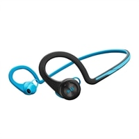 Plantronics Backbeat Fit - Headset - in-ear - behind-the-neck mount - wireless - Bluetooth - electric blue