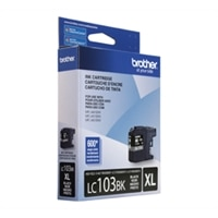Brother LC 103BKS Black Ink- High Yield Ink Cartridge