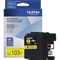 Brother LC103YS - Innobella™ High Yield (XL Series) Yellow Ink Cartridge