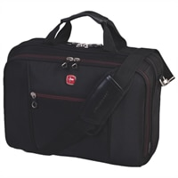 """Swiss Gear 15.6"""" Top Load Laptop Case - Black"""
