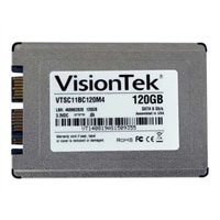 VisionTek GoDrive Series - Solid state drive - encrypted - 120 GB - internal - 1.8-inch - SATA 6Gb/s (900755)