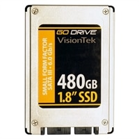 VisionTek GoDrive Series - Solid state drive - 480 GB - internal - 1.8-inch - SATA 6Gb/s (900757)