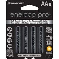 Panasonic eneloop pro BK-3HCCA8BA - Battery 8 x AA NiMH 2550 mAh