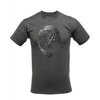 Alienware Arena Grey Heather Alien Font Gaming Gear - T-shirt - L - 100% cotton - grey
