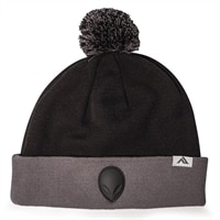 Alienware Beanie Cap - Black and Gray