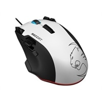 ROCCAT Tyon All Action Multi-Button Gaming - Mouse - laser - 16 buttons - wired - USB - white