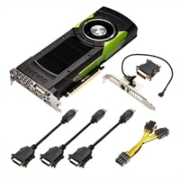NVIDIA Quadro M6000 - Graphics card - Quadro M6000 - 12 GB GDDR5 - PCI Express 3.0 x16 - DVI, 4 x DisplayPort