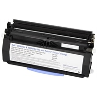 Dell - 6000-Page High Yield Black Toner Cartridge for 2330D/DN,2350 Monochrome Laser Printer - Use and Return