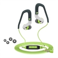 Sennheiser CX 686G SPORTS - Earphones with mic - in-ear - 3.5 mm jack - green