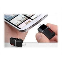 SanDisk Ultra Dual - USB flash drive - 32 GB - USB 3.0 (SDDD2-032G-C46)