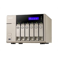 QNAP TVS-663 Turbo NAS - NAS server - 0 GB (TVS-663-8G-US)