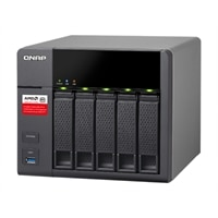 QNAP TS-563 Turbo NAS - NAS server - 5 bays - SATA 6Gb/s - RAID 0, 1, 5, 6, 10 - Gigabit Ethernet - iSCSI (TS-563-8G-US)