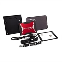 Kingston HyperX Savage Upgrade Bundle Kit - Solid state drive - 240 GB - internal - 2.5-inch - SATA 6Gb/s (SHSS3B7A/240G)