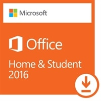 Microsoft Office Home and Student 2016 - Licence - 1 PC - non-commercial - ESD - Win - All Languages
