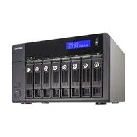 QNAP TVS-871 - NAS server - 8 bays - SATA 6Gb/s - RAID 0, 1, 5, 6, 10, JBOD, 5 hot spare - Gigabit Ethernet - iSCSI (TVS-871-i7-16G-US)