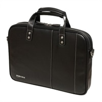 Mobile Edge Slimline - Laptop carrying case - 14.1-inch - black / white