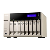 QNAP TVS-863 Turbo NAS - NAS server - 0 GB (TVS-863-4G-US)