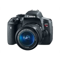 Canon EOS Rebel T6i 24.2 Megapixel DSLR EF-S 18-55mm IS STM lens