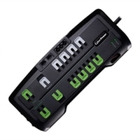 CyberPower Home Theater Series CSHT1208TNC2G - Surge protector - AC 125 V - output connectors: 12
