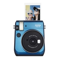 Fujifilm Instax Mini 70 - Instant camera - lens: 60 mm - island blue