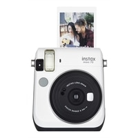 Fujifilm Instax Mini 70 - Instant camera - lens: 60 mm - moon white