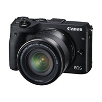 Canon EOS M3 Digital Camera EF-M 18-55mm IS STM - Black