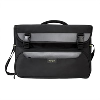 Targus CityGear II Hybrid Messenger - Laptop carrying case - 17-inch - grey, black