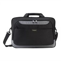 Targus CityGear II Topload Case - Laptop carrying case - 15.6-inch - grey, black