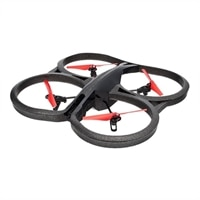 Parrot AR.Drone 2.0 Power Edition - Quadricopter - USB, Wi-Fi - red
