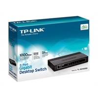 5-port TP-LINK TL-SG1005D 5-Port Gigabit Desktop Switch - Switch - 5 x 10/100/1000 - desktop