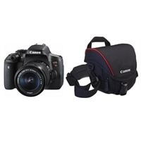 Canon EOS Rebel T6i and EF-S 18-55mm IS STM lens With Bonus Accessory Kit