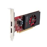 AMD FirePro W2100 2GB Half Height (2 DP) (1 DP to SL-DVI adapter) (KIT)