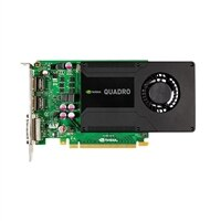 Dell Refurbished: Dell 4GB NVIDIA Quadro K2200 (1 DVI-I)(2 DP) Full Height Graphic Card