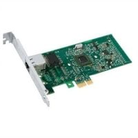 Dell Intel PRO 1000PT GbE Single Port Server Adapter Cu PCIe x1 - Kit