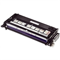 Dell - High capacity - black - original - toner cartridge - for Color Laser Printer 3130cn