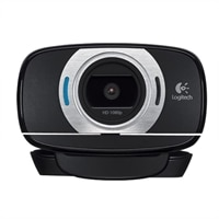 Logitech HD Webcam C615 - Web camera - colour - audio - Hi-Speed USB