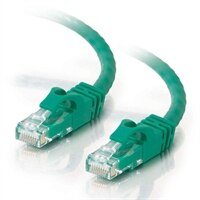C2G - Cat6 Ethernet (RJ-45) UTP Snagless Cable - Green - 1m