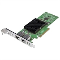 Dell Broadcom 57406 Dual Port 10G Base-T Server Adapter Ethernet PCIe Network Interface Card - Full Height