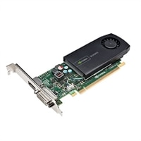 Dell 2GB Nvidia Quadro K420 Half-Height Graphic Card (DP, DL-DVI-I) (1 DP to SL-DVI adapter)