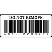 Kit - LTO4 Cartridge Barcode Labels (Serial # 1-60)