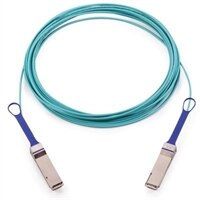 Dell Networking Mellanox EDR VPI EDR InfiniBand QSFP assembled optical cable LSZH - 5 m