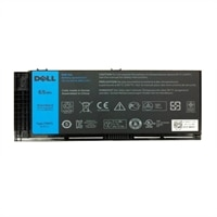 Dell Refurbished: Dell 65 WHr 6-Cell Primary Lithium-Ion Battery