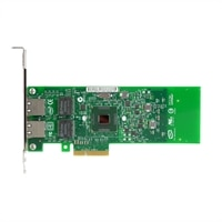 Intel Gigabit ET Low Profile Dual Port Server Adapter  Cu  PCIe x4 - Kit